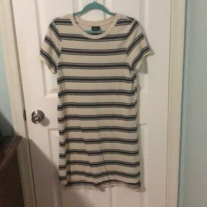 MOSSIMO Striped T-Shirt Dress